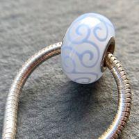 'Unicorn' Silver Core Bead