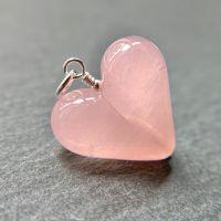 'Pink Lemonade' Heart Pendant