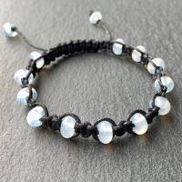 'Magpie' Macramé Bracelet