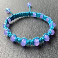'Another Mermaid's Hair' Macramé Bracelet
