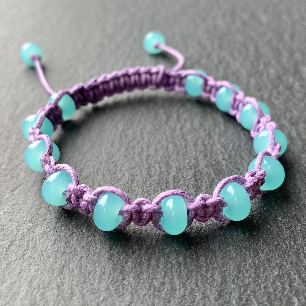 'Mermaid's Hair' Macrame Bracelet