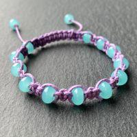 'Mermaid's Hair' Macramé Bracelet