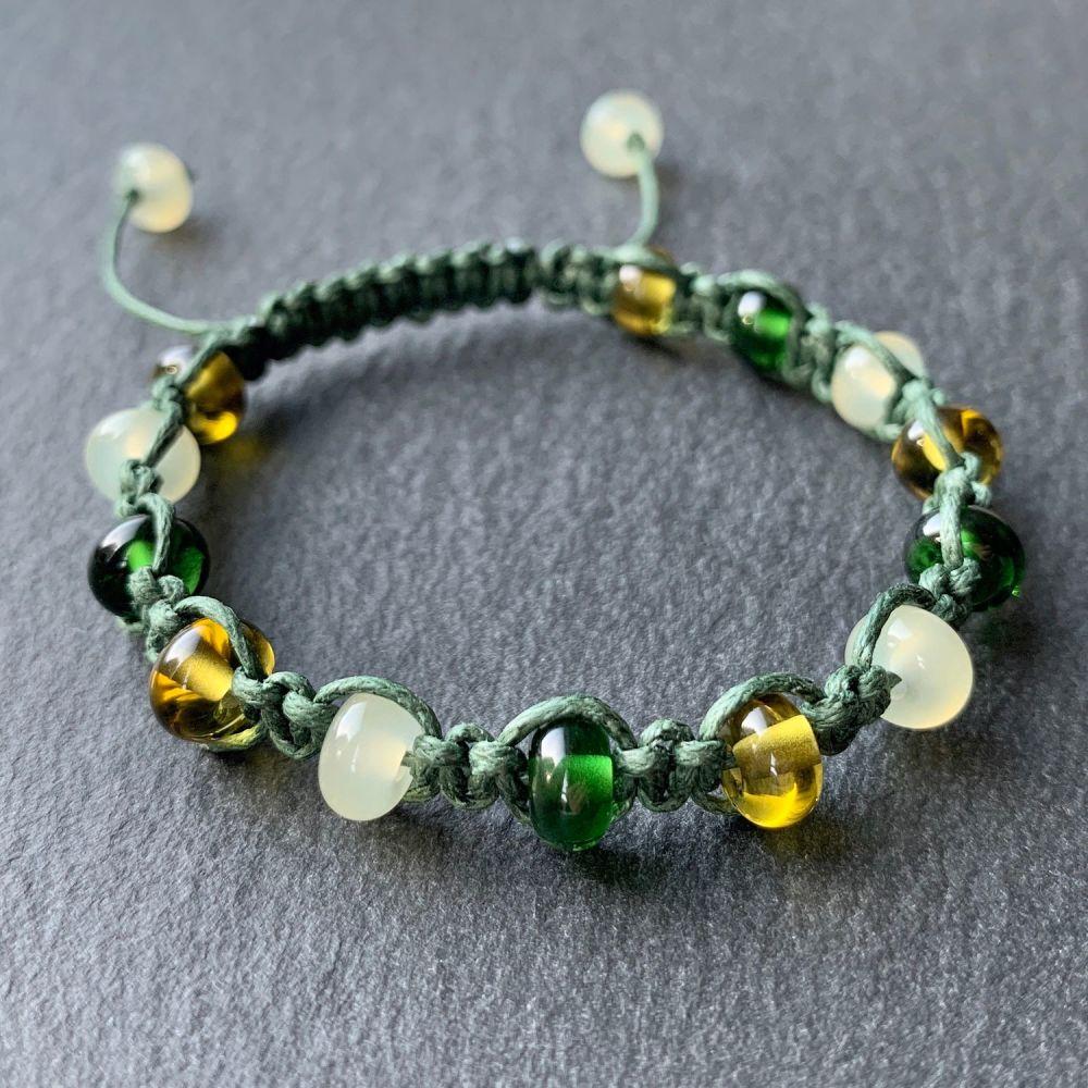'Ivy' Macramé Bracelet