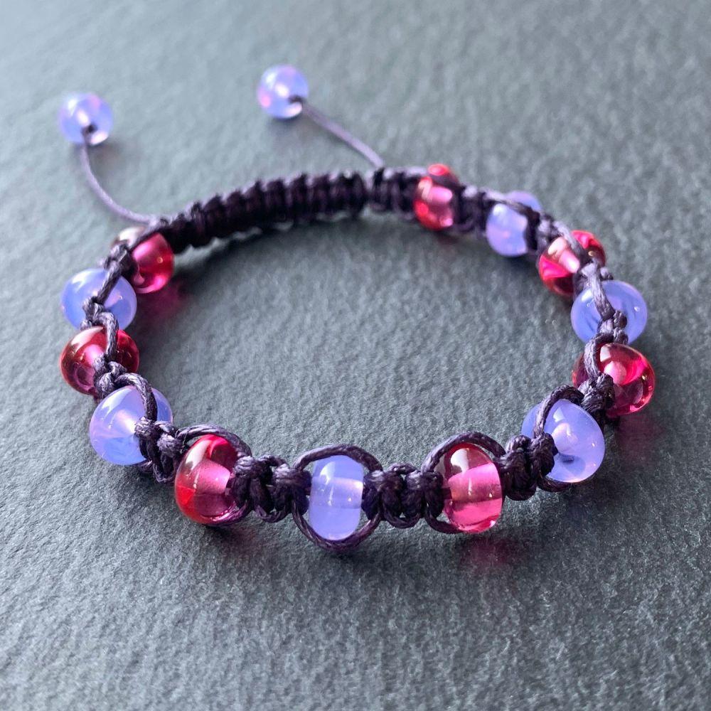 'Majesty' Macramé Bracelet