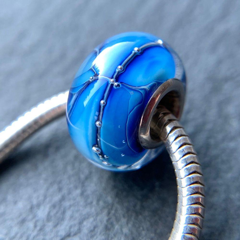 'Triton' Silver Core Bead