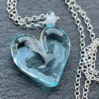 'Ice' Heart Necklace