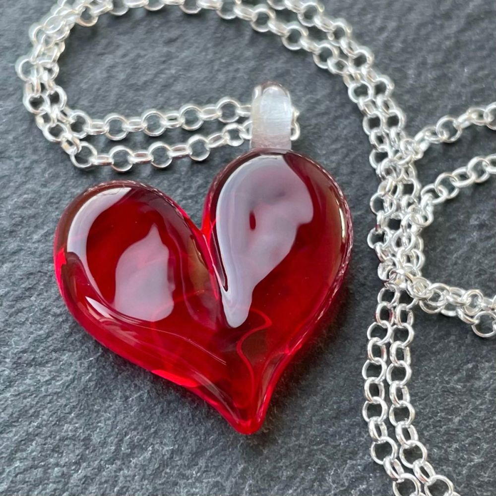 'Rouge' Heart Necklace