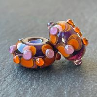 'Odd Couple' Big Hole Beads
