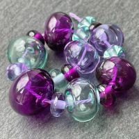 'Dragonfly' Hollow Beads
