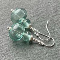 'Antique Bottle' Bubble Earrings