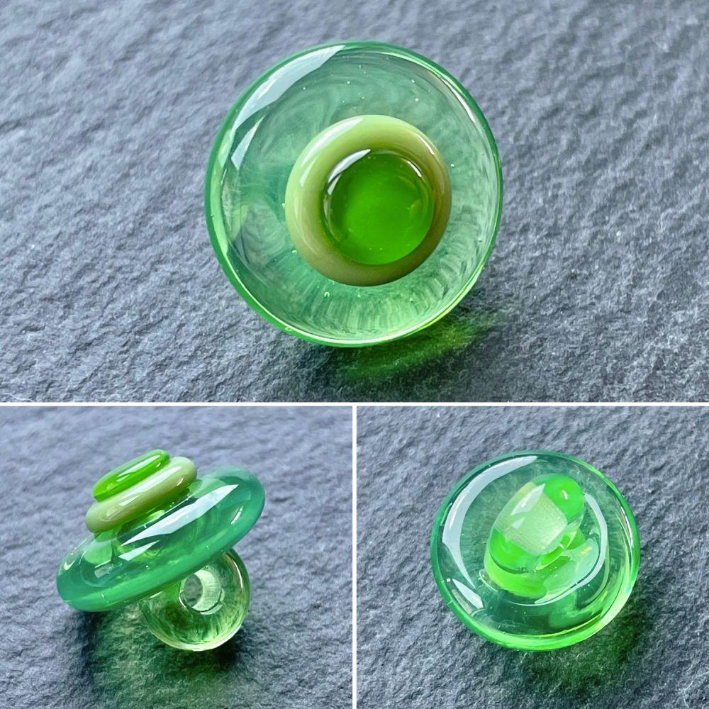'Emerald' Concentric Button
