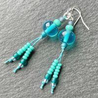 'Mediterranean Sea' Earrings