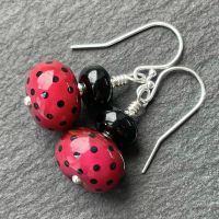 'Cranberry' Earrings