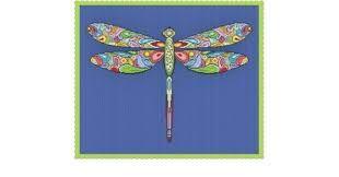 Happy Dragonfly