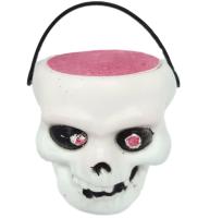Handmade Spooky Skull Halloween Bath Bomb