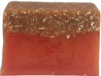 Honey & Oats Handmade Soap Slice