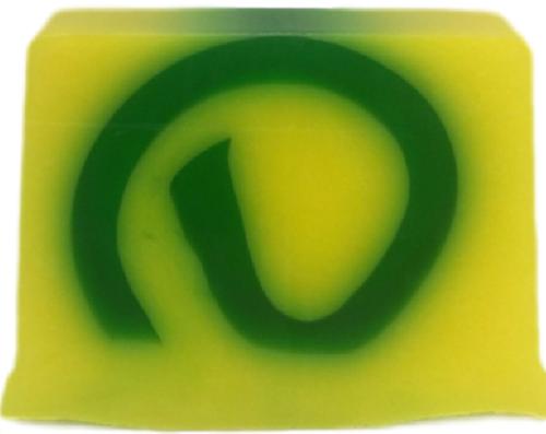 Zesty Lemon and Lime Handmade Soap Slice