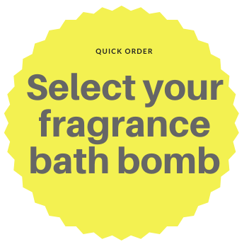 Bath Bomb - Choose your fragrance from the drop down menu