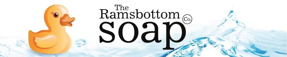Ramsbottom Soap Co., site logo.
