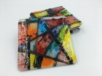 Coaster Set - Kaleidoscope