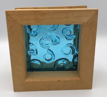 Framed Ammonite (small)