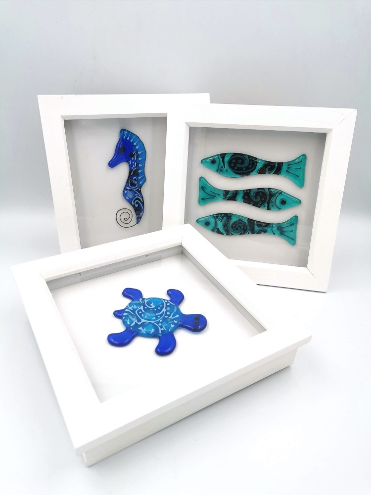 Framed Sea Creatures