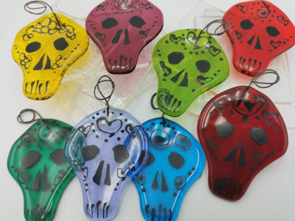 Jelly Bean Skulls