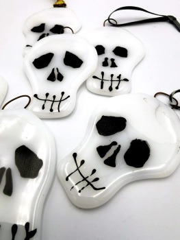 Skull Decoration - White