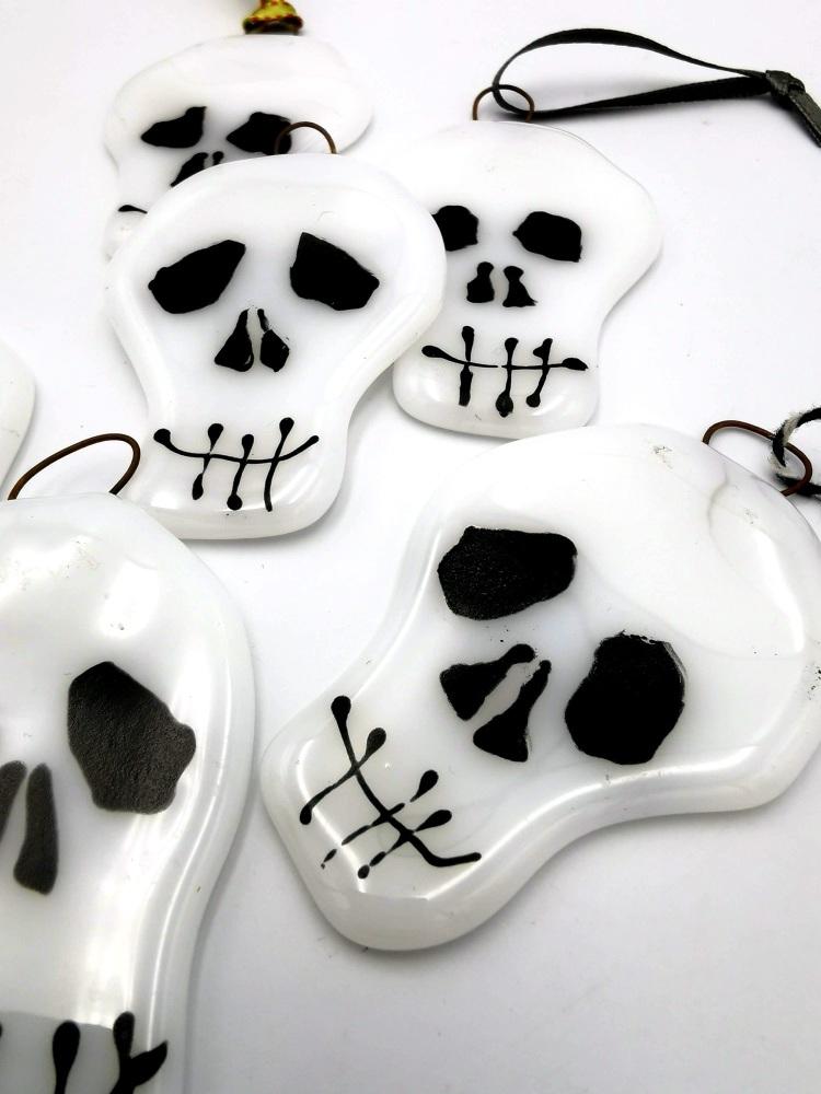 Skull Decoration - White