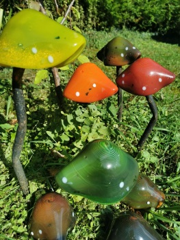 Garden Toadstools - pot melts