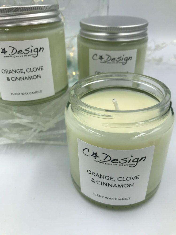Orange, Clove & Cinnamon - Candle
