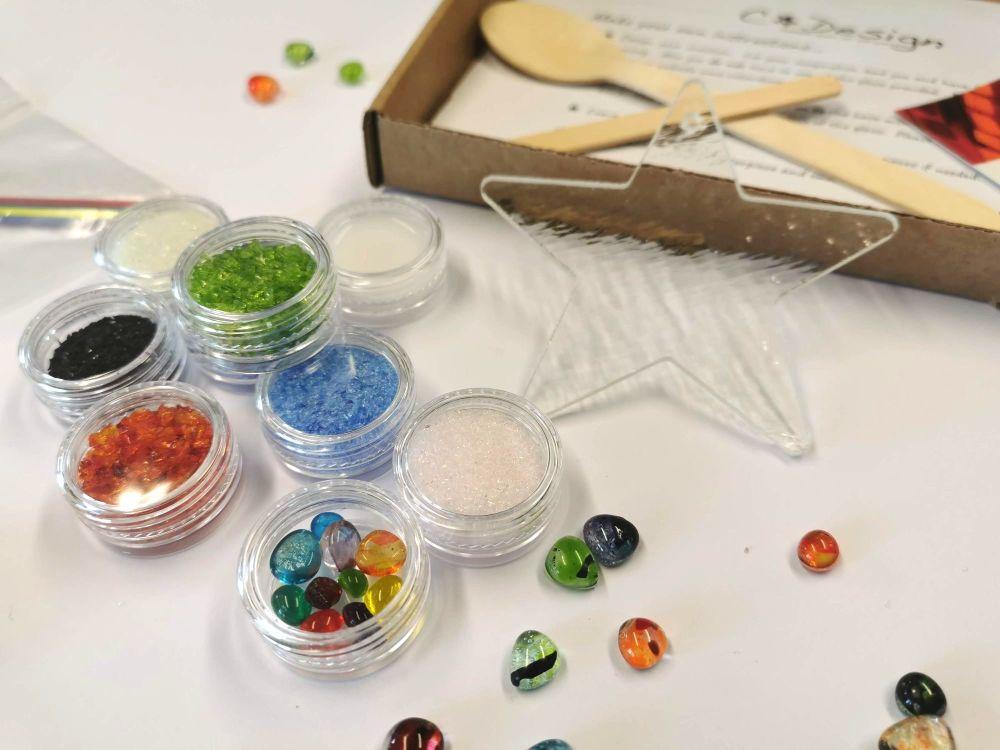 Glass Fusing Kit - Rainbow star