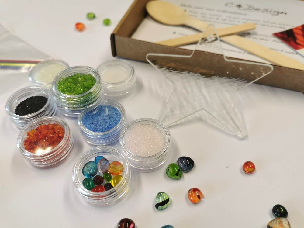 Glass Fusing Kit - Star