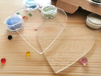 Glass Fusing Kit - Hearts