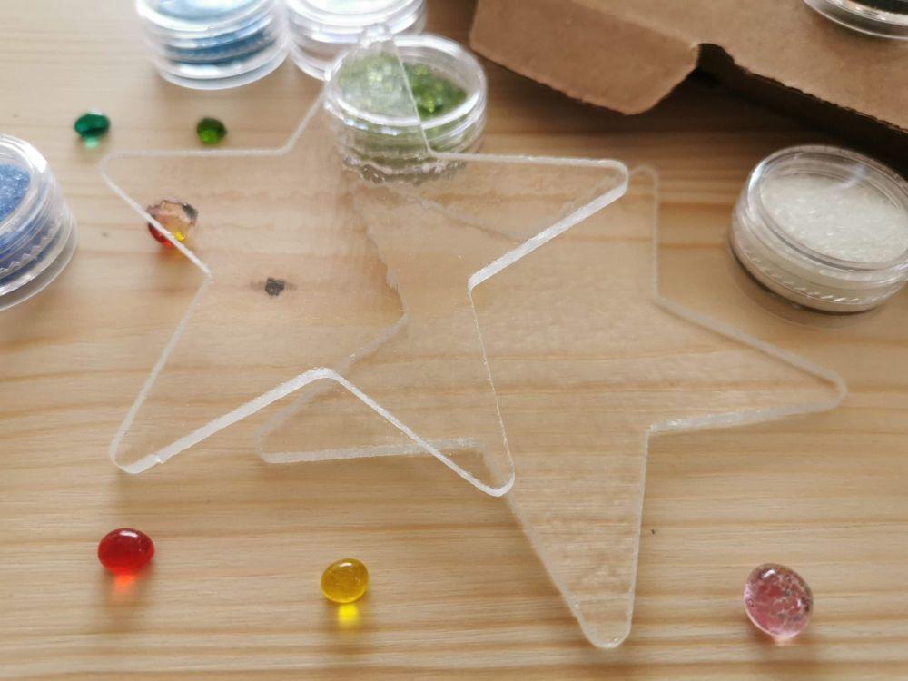 Glass Fusing Kit - Stars