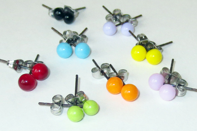 Stud Earrings (made to order)