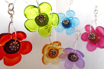 Flower Pendants (made to order)
