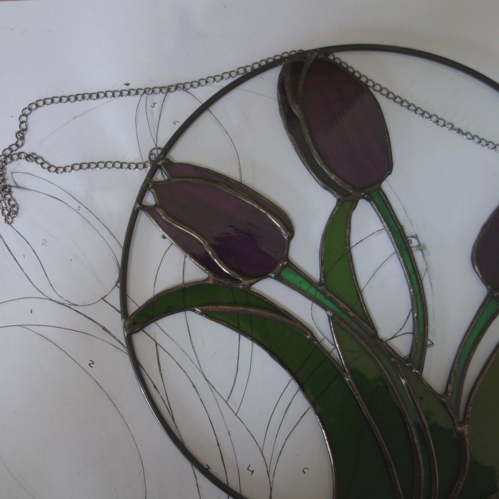 tulips flat