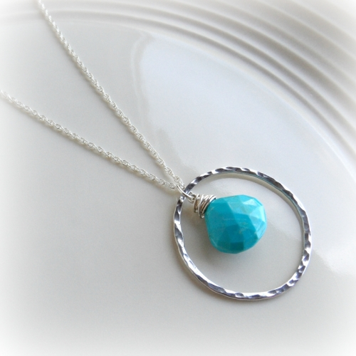Aura Necklace - in Turquoise
