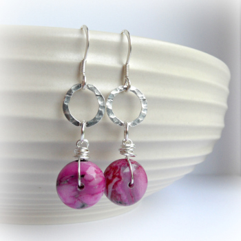 Jasper Rosalita Earrings
