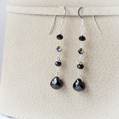 Black Swan Earrings