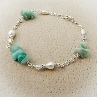 Amazonite Mint Bracelet