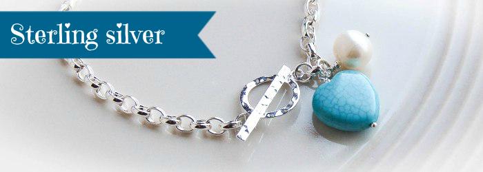 turquoise heart bracelet ribbon banner sterling_700x250px