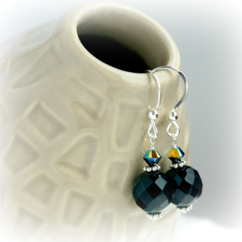 Onyx Middnight Earrings