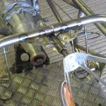 steering mount tacked
