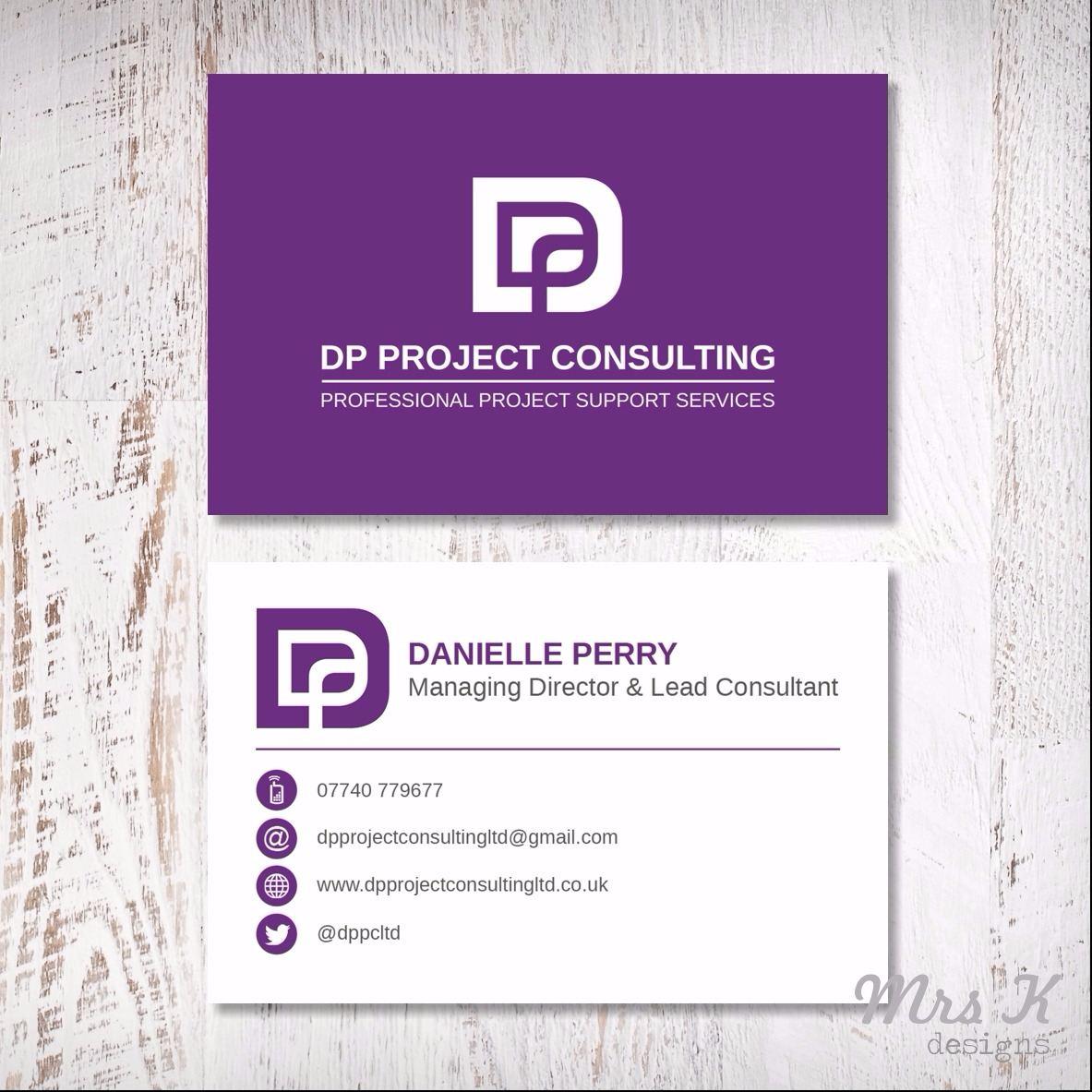 Bespoke Business Cards - Design | Mrs K Designs
