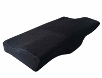 Ergonomic Memory Foam Pillow (Black)
