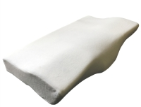 Ergonomic Memory Foam Pillow (White)