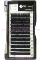 C Curl 0.25 Thickness / 12mm Length Blink Laser Mink Individual Eyelash Tray
