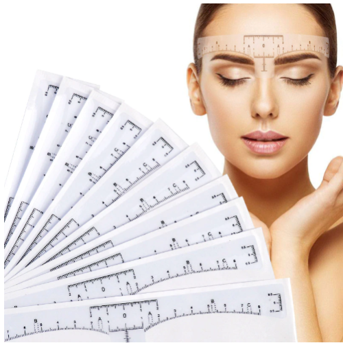 Brow Measuring Stickers Type 1 Picture 2